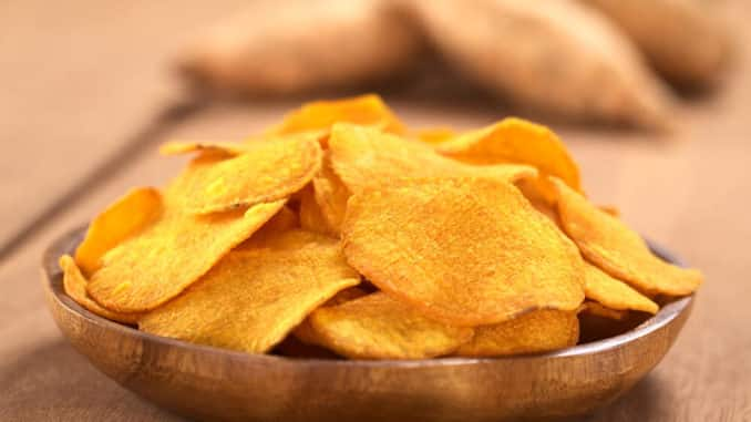 Süßkartoffel Chips