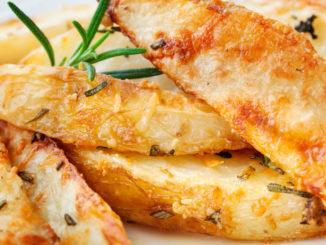 Süßkartoffeln mit Parmesan