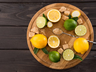 Süßkartoffel Zitronen Salat