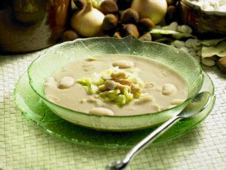 Winterliche Maronen Süßkartoffel Suppe