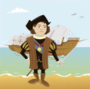 Christoph Kolumbusund die Süßkartoffel